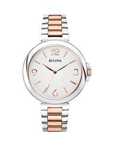 bulova-white-dial-2-tone-rose-gold-stainless-st