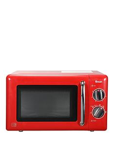 Swan Sm22080r 20 Litre Manual Microwave Red