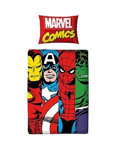 marvel-comic-clash-toddler-duvet-cover-set