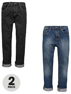 v-by-very-boys-straight-fit-jeans-in-dark-and-mid-2-pack