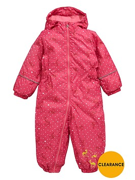 regatta-regatta-little-girls-printed-waterproof-all-in-one-suit