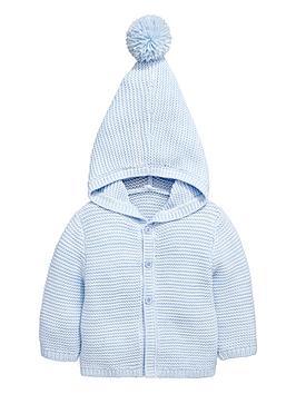 ladybird-babynbspboys-hooded-knitted-cardigan