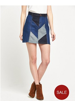 river-island-denim-patchwork-skirt