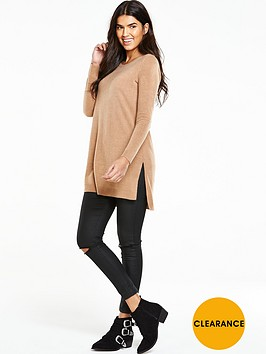 v-by-very-crew-neck-split-side-tunic-jumpernbsp