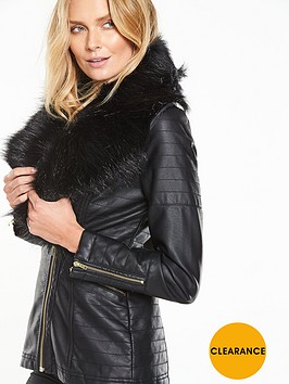 v-by-very-longline-pu-jacket-with-faux-fur-collarnbsp