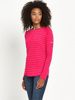 berghaus-tech-long-sleeve-stripe-baselayer-pink