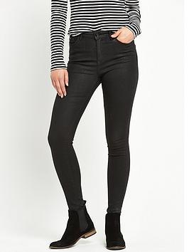 superdry-sophia-high-waist-super-skinny-jean-coated-black