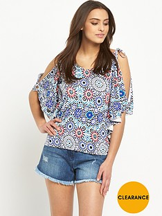 v-by-very-cold-shoulder-printed-top
