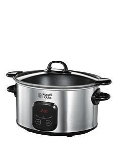 russell-hobbs-22750-6-litrenbspdigital-slow-cooker-stainless-steel