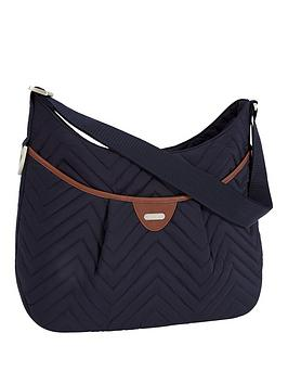 mamas-papas-ellis-shoulder-changing-bag-navy-quilt