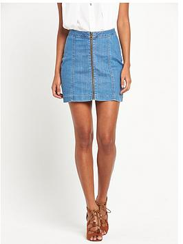 v-by-very-zip-through-denim-skirt