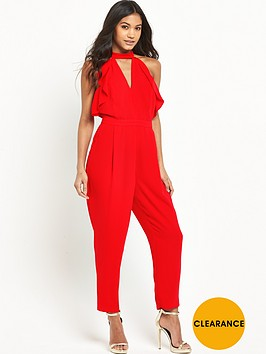 river-island-frill-front-tapered-jumpsuit