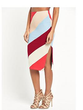river-island-jersey-stripe-skirt