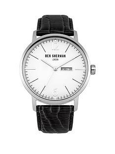 ben-sherman-matte-white-dial-date-window-black-genuine-leathernbspstrap-mens-watch