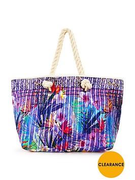 v-by-very-tropical-floral-print-beach-bag