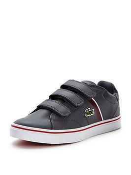 lacoste-junior-fairlead-strap-shoe-grey
