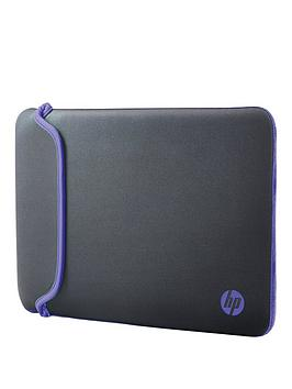 hp-156rdquo-notebook-sleeve-ndashgreypurple