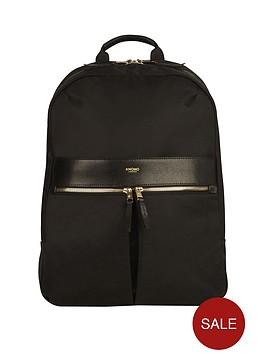 knomo-beauchamp-backpack-14-inch-black