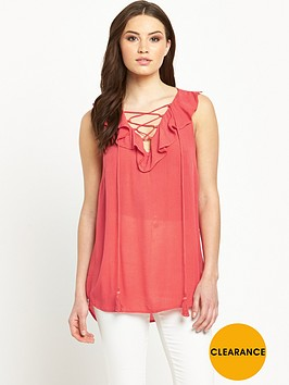 v-by-very-frill-front-lace-up-blousenbsp