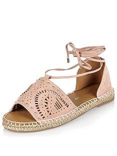 river-island-espadrillenbsplaser-cut-sandals