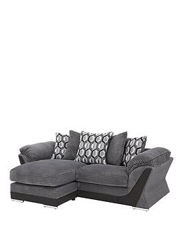 hudson 3 seater reversible chaise sofa. Black Bedroom Furniture Sets. Home Design Ideas