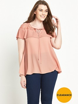 v-by-very-curve-pleat-and-lace-short-sleeve-blouse-14-28