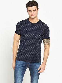 river-island-ditsy-spot-printed-t-shirt