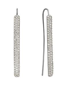lola-and-grace-rhodium-plated-stick-earrings-with-swarovski-crystals