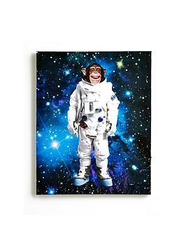 arthouse-space-monkey-canvas-with-led-stars-ndash-40-x-50cm