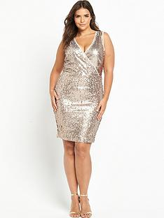 so-fabulous-knot-side-sequin-dress