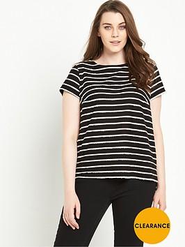 v-by-very-curve-mono-stripe-tie-back-top