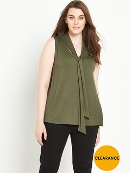 so-fabulous-tie-front-sleeveless-jersey-topnbsp
