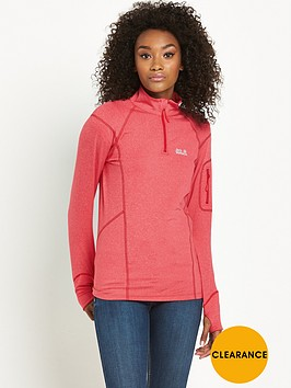 jack-wolfskin-silver-sky-half-zip-base-layer-red