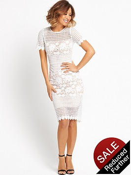 myleene-klass-cut-out-floral-hem-dressnbsp