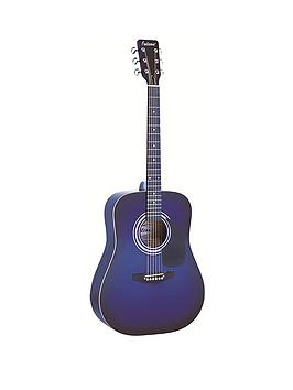 falcon-dreadnought-acoustic-guitar-blue