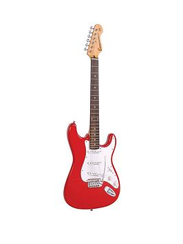 encore-electric-guitar-red