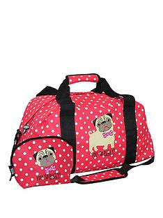 david-goliath-you-so-pugly-holdall-with-make-up-case-spot-print