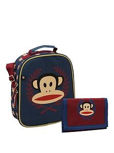 paul-frank-lunch-bag-and-wallet-navy