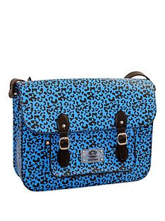 paul-frank-animal-print-satchel-blue