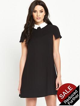 v-by-very-collar-skater-dress