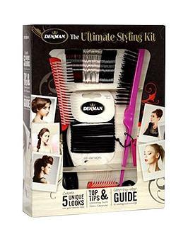 denman-ultimate-styling-kitnbspamp-free-rake-comb