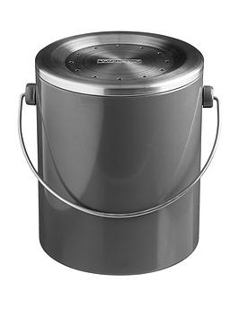 typhoon-hudson-compost-caddy-in-grey-ndash-3-litre-capacity