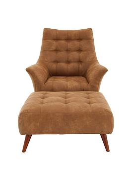 ideal-home-salirnbspfaux-leather-chair-and-footstool