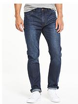 Straight Fit Denim Jean