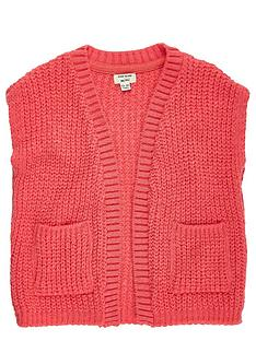 river-island-mini-girls-knitted-sleeveless-jacket