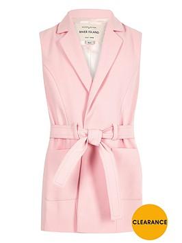 river-island-girls-pink-belted-sleeveless-blazer