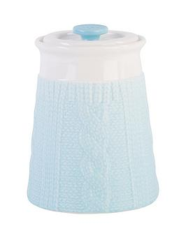 beau-elliot-chunky-knit-storage-jar-sky
