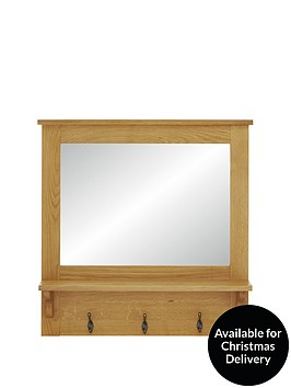 london-ready-assembled-oak-hallway-mirror-with-shelf-and-hooks