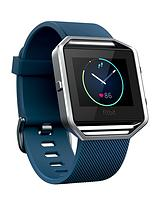 Blaze Smart Fitness Watch - Large (Blue)