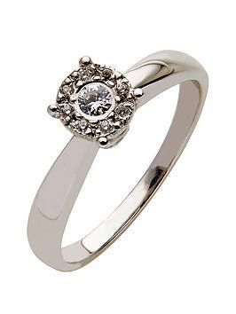 love-diamond-9-carat-white-gold-12-point-diamond-multi-stone-ring